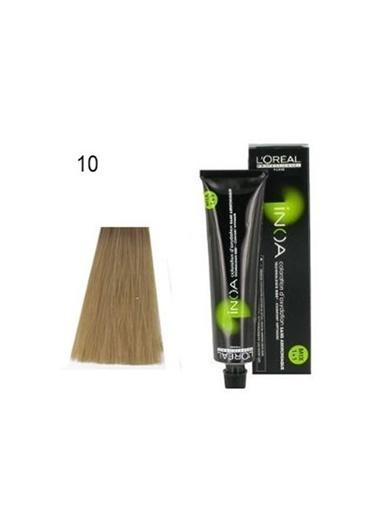 Inoa No:10 Saç Boyası 60 Gr,SARI Sarı